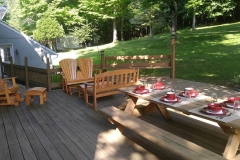 THE RESIDENCE - BACK DECK