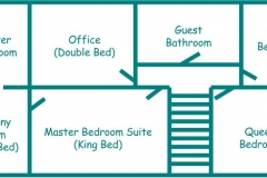 THE RESIDENCE - UPSTAIRS FLOOR PLAN